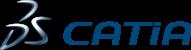 CATIA_Logotype_CMYK_NewBlueSteel